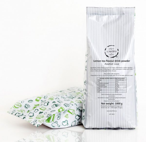 Ametist Line - Lemon tea flavour drink powder
