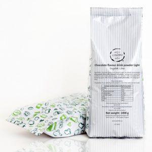 Crystal Line - Chocolate flavour drink powder Light