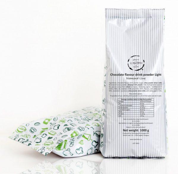 Diamond Line - Chocolate flavour drink powder Light