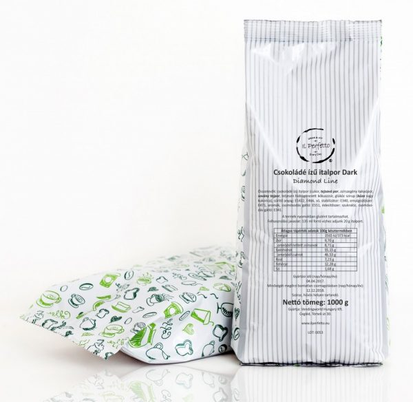 Diamond Line - Csokoládé ízű italpor Dark