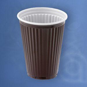 Műanyag pohár Thermo Barna 180 ccc/180 ml