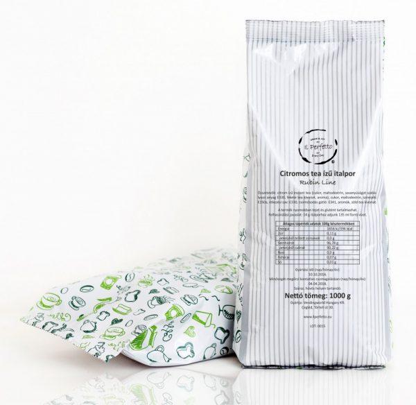 Rubin Line - Citromos tea ízű italpor