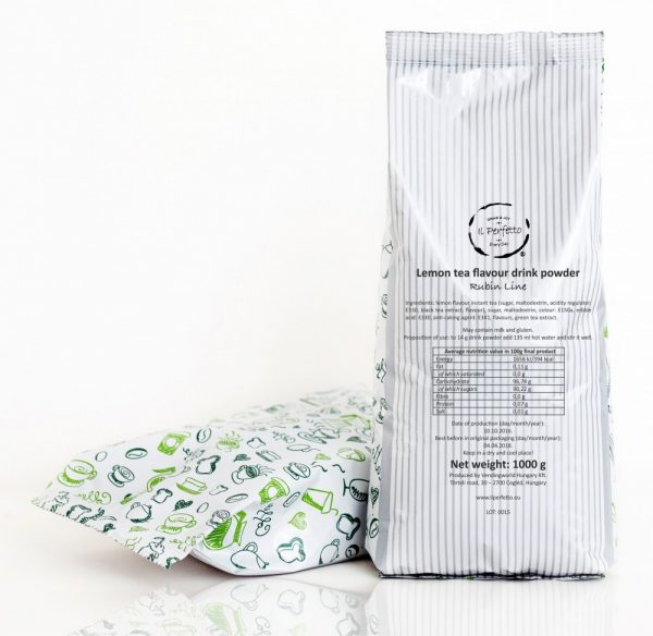 Rubin Line - Lemon tea flavoured drink powder